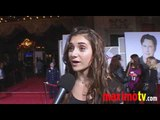 ALYSON STONER Interview at OLD DOGS PremiereArrivals
