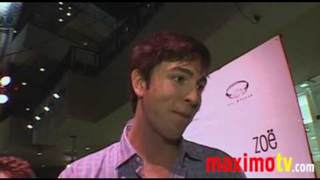 Nicholas Braun Interview at Zoe Myers 'Love Me or Hate Me' Premiere Music Video