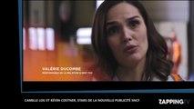 Kevin Costner et Camille Lou réunis à l'écran : la SNCF s'offre un casting de choix (vidéo)