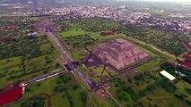Images rares des pyramides de Teotihuacan au Méxique