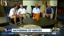Four Congressional Medal of Honor recipients gather for events in Phoenix