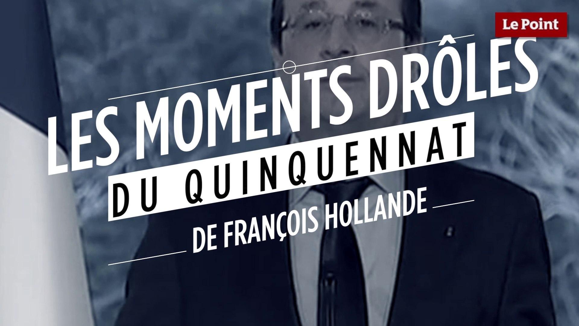 Les Moments Les Plus Droles Du Quinquennat De Francois Hollande Video Dailymotion