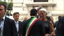 Italie: arrivée des grands argentiers du G7 à Bari