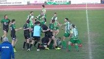 Quand un match de rugby fini en bagarre générale... Violent