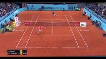 Madrid : Le coup de génie de Pablo Cuevas face à Alexander Zverev (vidéo)
