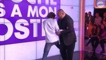 TPMP - Mokhtar met au tapis Baptiste Lecaplain lors d'une prise de judo