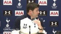 Mauricio Pochettino pre Tottenham vs Manchester United