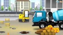 Traktor Animacje i inne - Mądry Traktorek Ciężka Praca | Tractors for Kids - Animations