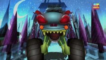Haunted House Monster Truck - haunted house monster truck in the dinosaur land - part 1 | Episode 25