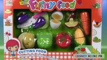 Jeu de Coupe légumes Funny Toy Cutting Velcro Food Jouet Premier Age Toy Cutting Vegetables
