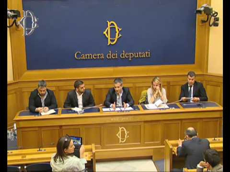 Roma - Viaggio in Libano - Conferenza stampa di Michele Piras (04.05.17)