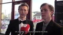 Henrik & Tarjei Dagbladet Gulrutten Interview (subbed)