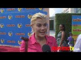Alison Sweeney Interview at 'Handy Manny Motorcycle Adventure' Premiere Sept 26, 2009