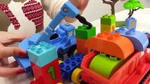 BOB the Builder Can't Count! TOY TAINS Number Game with LEGO Construction Toy Tru