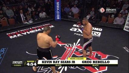 Melhores momentos Greg Rebello X Kevin Ray Sears Jr - CES 44