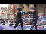 Future Champ Conor Benn (Nigel Benn son!) Working Out - GGG VS BROOK Card EsNews Boxing