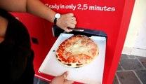 Une machine à pizza qui fait une pizza fraîche pour 3€