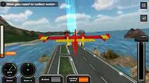 Fire Fighting Plane For Kids _ Android Games _ New Flight Simulator _ Air Plane For Childrens
