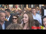 """Angelina Jolie """"Inglorious Basterds"""" Premiere Red Carpet"""