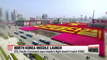 North Korea launches ballistic missile, four days after South Korean President's inauguration