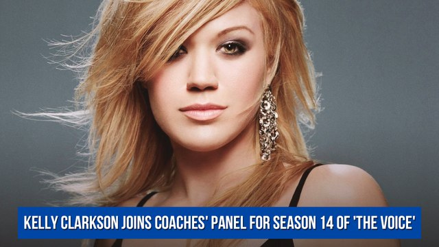 Kelly Clarkson joins coaches' panel for Season 14 of 'The Voice'