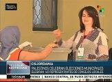 Palestina: Cisjordania celebra este sábado elecciones municipales