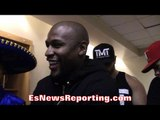 """FLOYD MAYWEATHER CONSIDERS HIMSELF """"THE FACE OF MMA"""" CLOWNS CONOR MCGREGOR!! - EsNews Boxing"""
