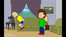 Caillou poops on his dad and gets grounded[1]asd
