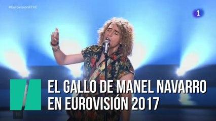 Manel Navarro Sobre Su Gallo En Eurovisión No Me Había Pasado