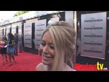 """AUBREY O'DAY Interview at """"Transformers 2"""" Premiere Arrivals"""