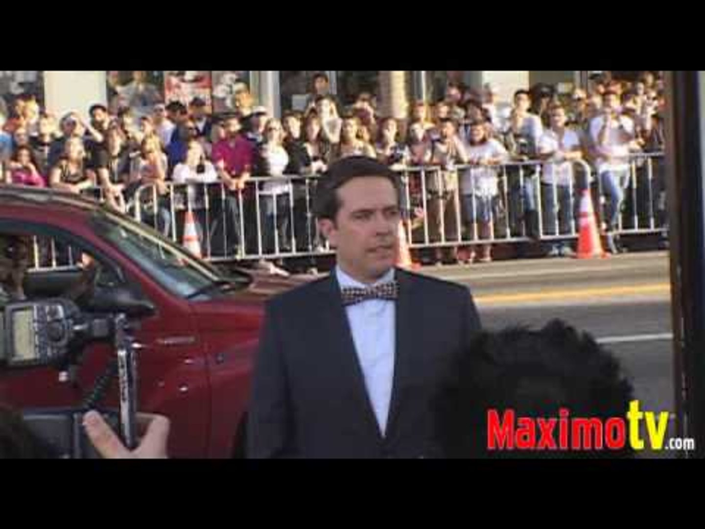ED HELMS at THE HANGOVER Premiere