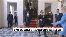 François Hollande quitte l'Elysée après la passation de pouvoir - Politique