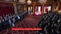 """Emmanuel Macron veut """"rendre aux Français cette confiance en eux, trop longtemps affaiblie"""""""