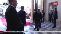 Passation de pouvoir : le départ de François Hollande