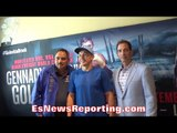 GENNADY GOLOVKIN ON FAILED CANELO NEGOTIATIONS; BROOK 11LBS HEAVIER & MOVING DOWN TO 154 OR 168