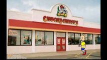 Caillou goes to Chuck E Cheeand gets grounded
