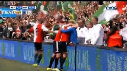 Kuyt GOAL (2:0) Feyenoord vs Heracles