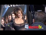 HALLE BERRY at X-MEN ORIGINS WOLVERINE Premiere