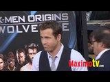 RYAN REYNOLDS at X-MEN ORIGINS WOLVERINE Premiere