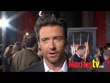 HUGH JACKMAN Interview at X-MEN ORIGINS WOLVERINE Premiere