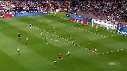 Locadia GOAL (2:1) PSV vs PEC Zwolle