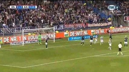 Schururman GOAL (1:3) Willem II vs Ajax