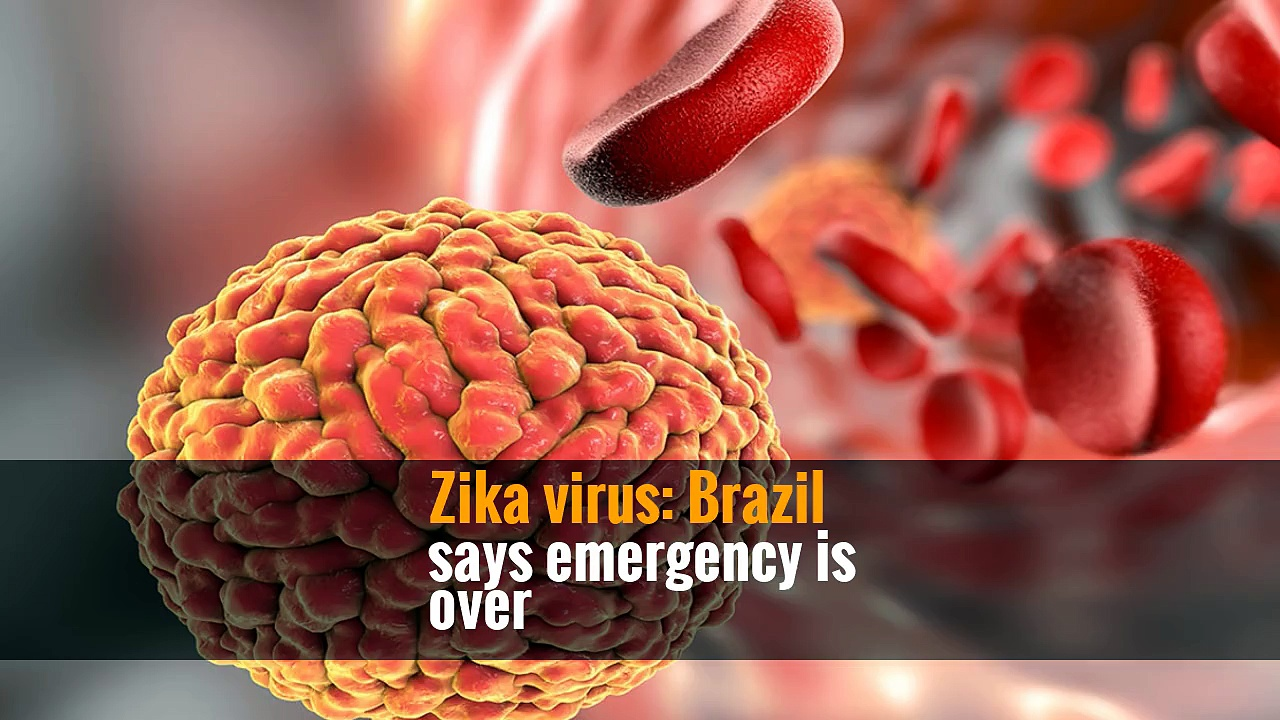Zika virus: Brazil says emergency is over