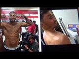 GGG 165 Brook 176 30 days before fight - WTF?  EsNews Boxing