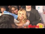 Aubrey O'Day Signs her Playboy Pics at American High School Premiere