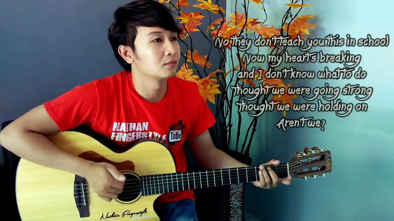 One Direction History Nathan Fingerstyle Guitar Cover