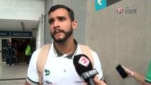 Henrique Dourado comenta sobre a sua estreia no Brasileirão com dois gols