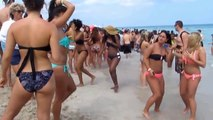 MIAMI. Student holidays at South Beach. Florida - USA.