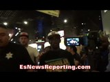 CHAOS AS CRAWFORD STORMS OUT OF MGM!! REPORTERS FLYING EVERYWHERE!! - EsNews Boxing
