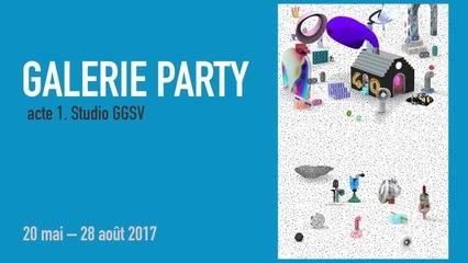 Teaser Galerie Party | Exposition-Atelier | Jeune public